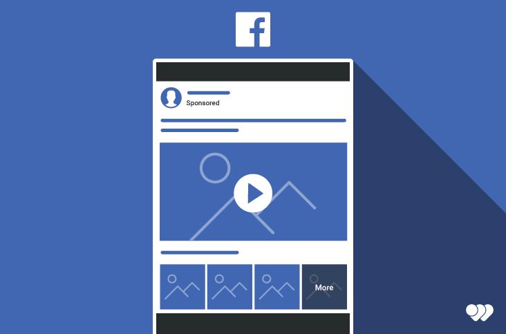 Utilisation de la vidéo collection sur Facebook afin de créer un contenu publicitaire pertinent