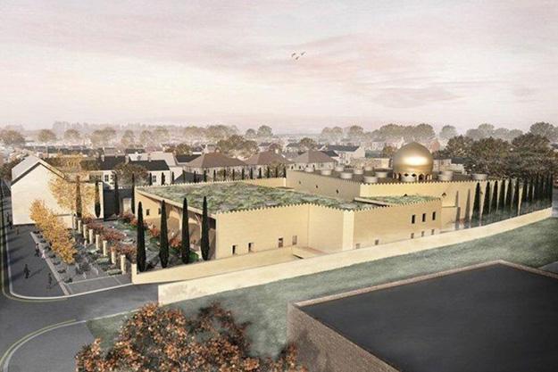 La première éco-mosquée prend forme à Cambridge