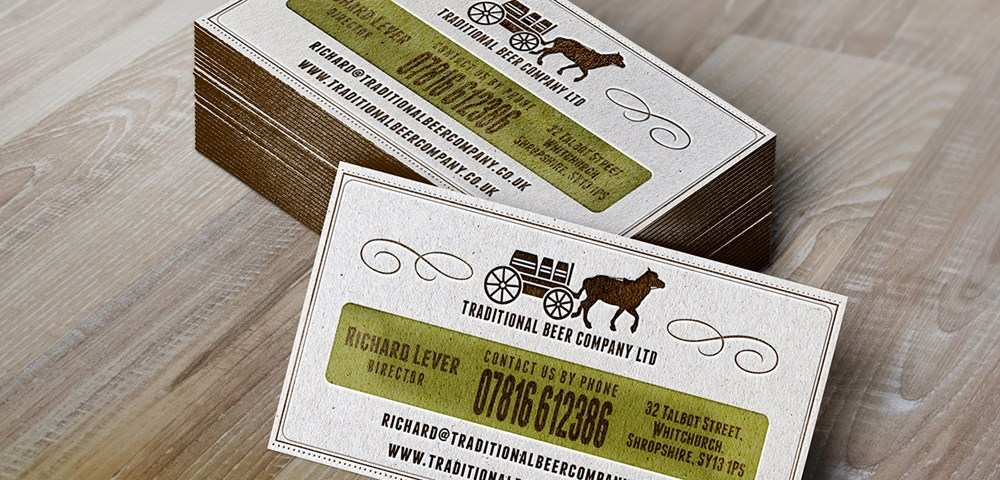Traditional Beer Company Business Card – You Media