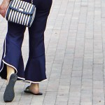 how to style wear frilled trousers trend hem