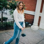 casual fall jeans outfit