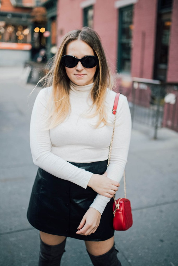 stylish cold weather winter outfit ideas turtlenecks layering