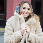 stylish cold weather winter outfit ideas ear muffs