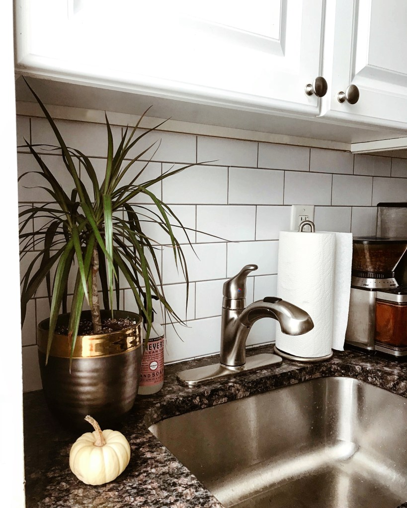 Kitchen Update Faux Subway Tile Backsplash With Vinyl Peel And Stick Wallpaper You Must Love Life