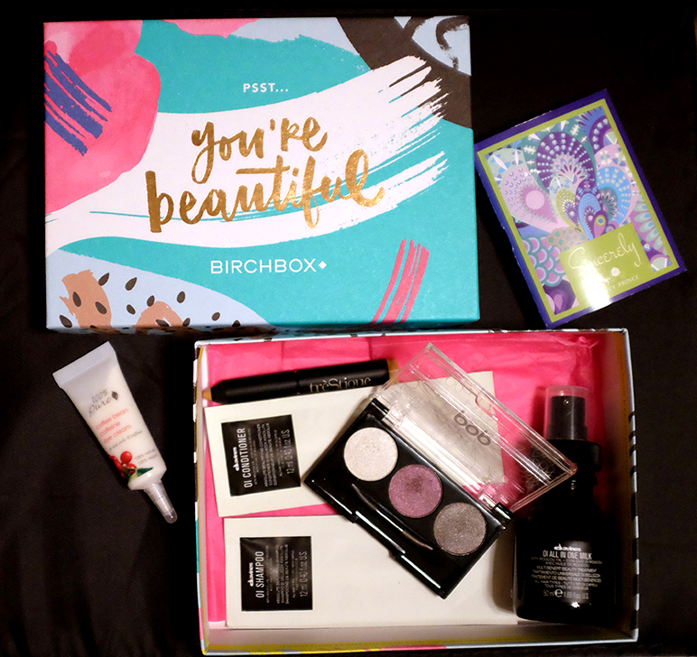 Birchbox September 2015 Contents