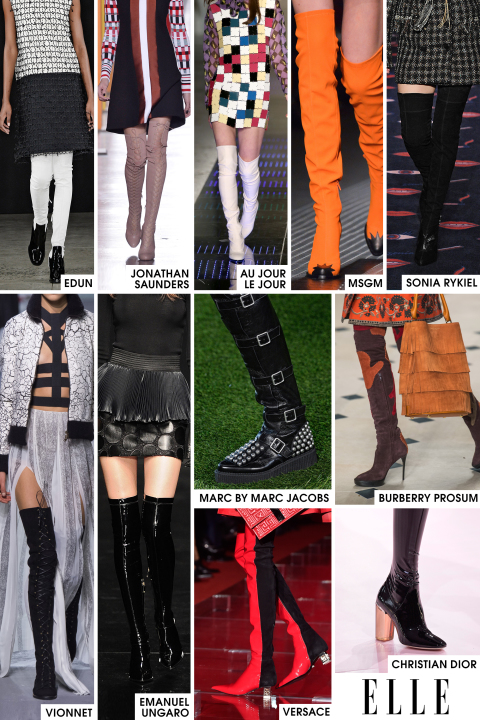 Elle fall 15 trends Thigh Highs