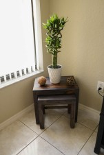 side table bamboo decor