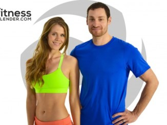 Fitness Blender workout couple Daniel and Kelli