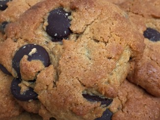Flourless Almond Butter Chocolate Chip Cookies Younfolded blog