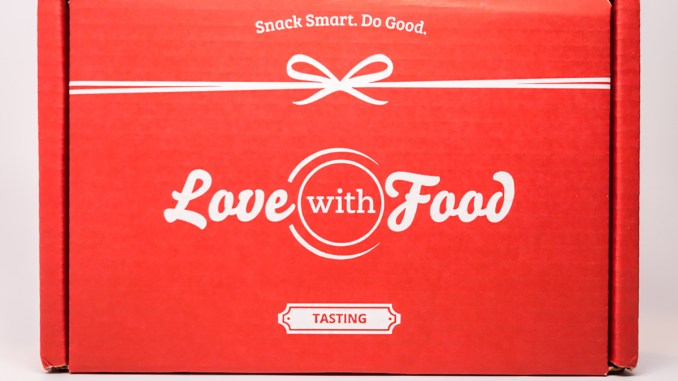 Love With Food Box cover younfolded blog