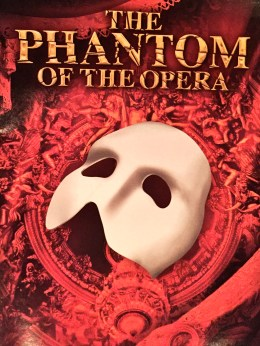 The Phantom of the Opera Playbill younfolded blog