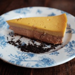 guava and mango cheesecake from Finka Table & Tap Miami