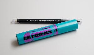 covergirl Super sizer fibers mascara perfect point plus eyeliner