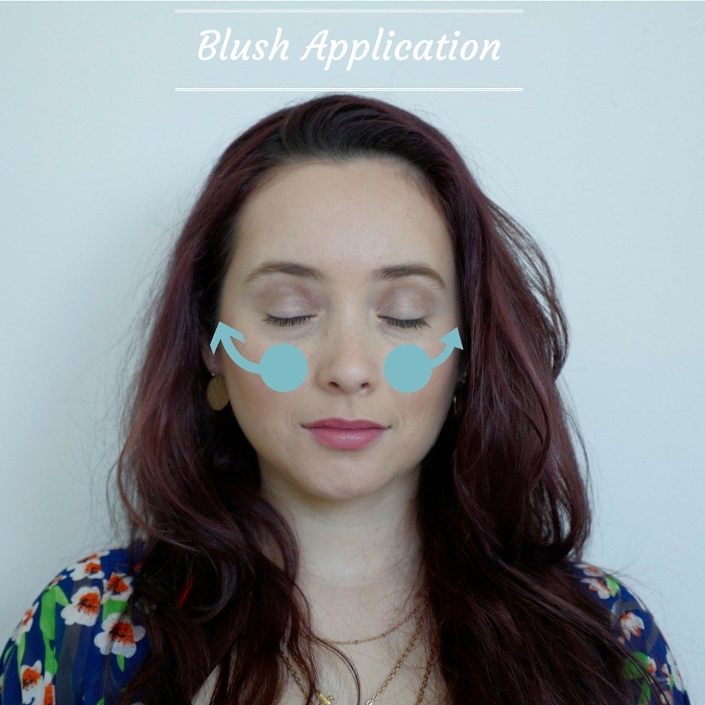 Blush Application tutorial younfolded blog