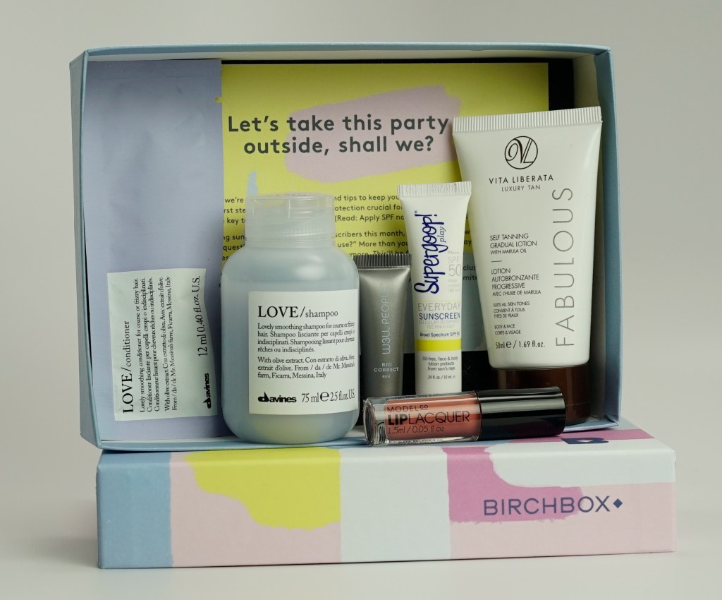 May Birchbox Contents 2016 out of doors younfolded blog