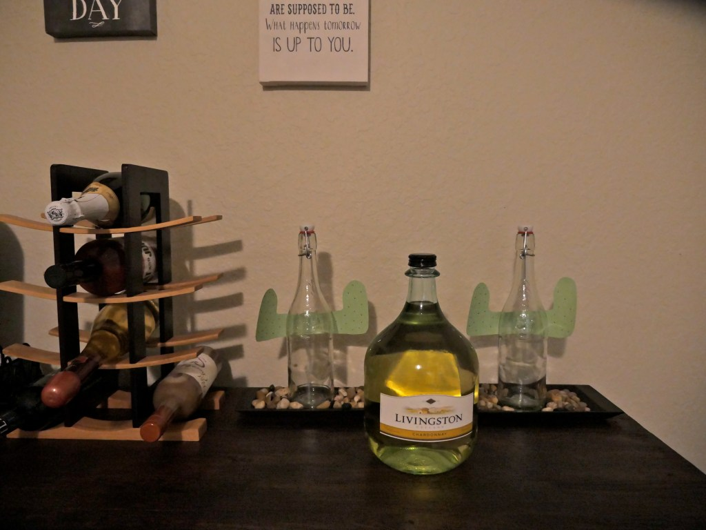 DIY Cactus Bottles dollar tree items younfolded blog