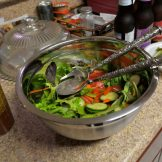 Mixed Green Salad with homemade dressing