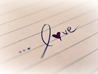 love written on notebook paper younfolded blog