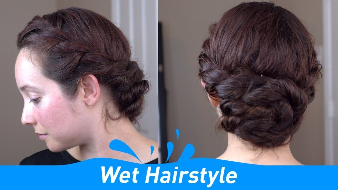 Wet Hairstyle Tutorial younfolded