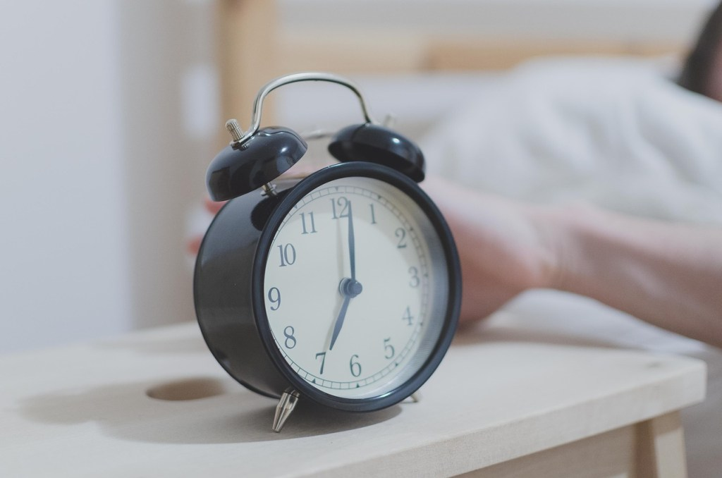 alarm clock reduce morning routine stress younfolded