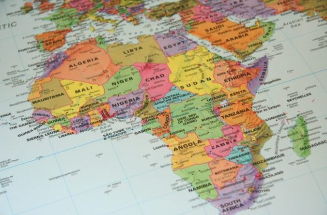 Top 10 Most Developed African Countries   Young Diplomats Map of Africa  Credit   Dawn News