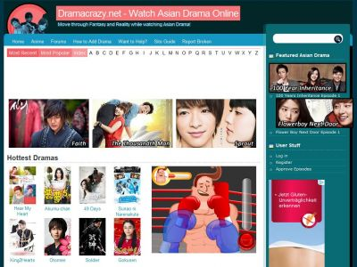 Dramacrazy net