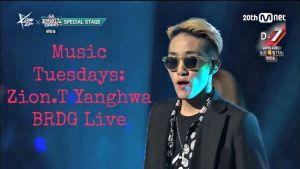 Music Tuesdays: Zion.T – Yanghwa BRDG Live