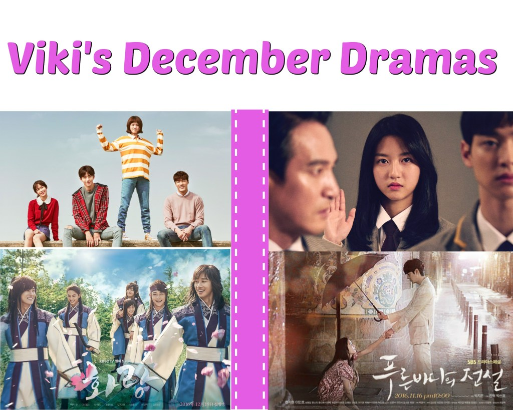K-Drama Watch: December Viki Dramas