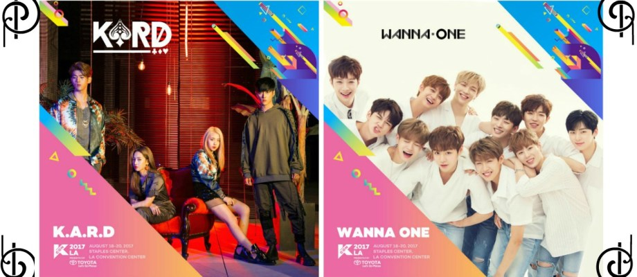 K.A.R.D and Wanna One to Perform at KCON 2017 LA