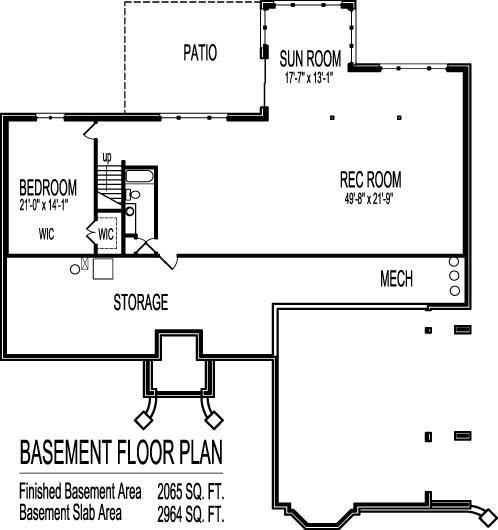 Split Level Bungalow House Plans