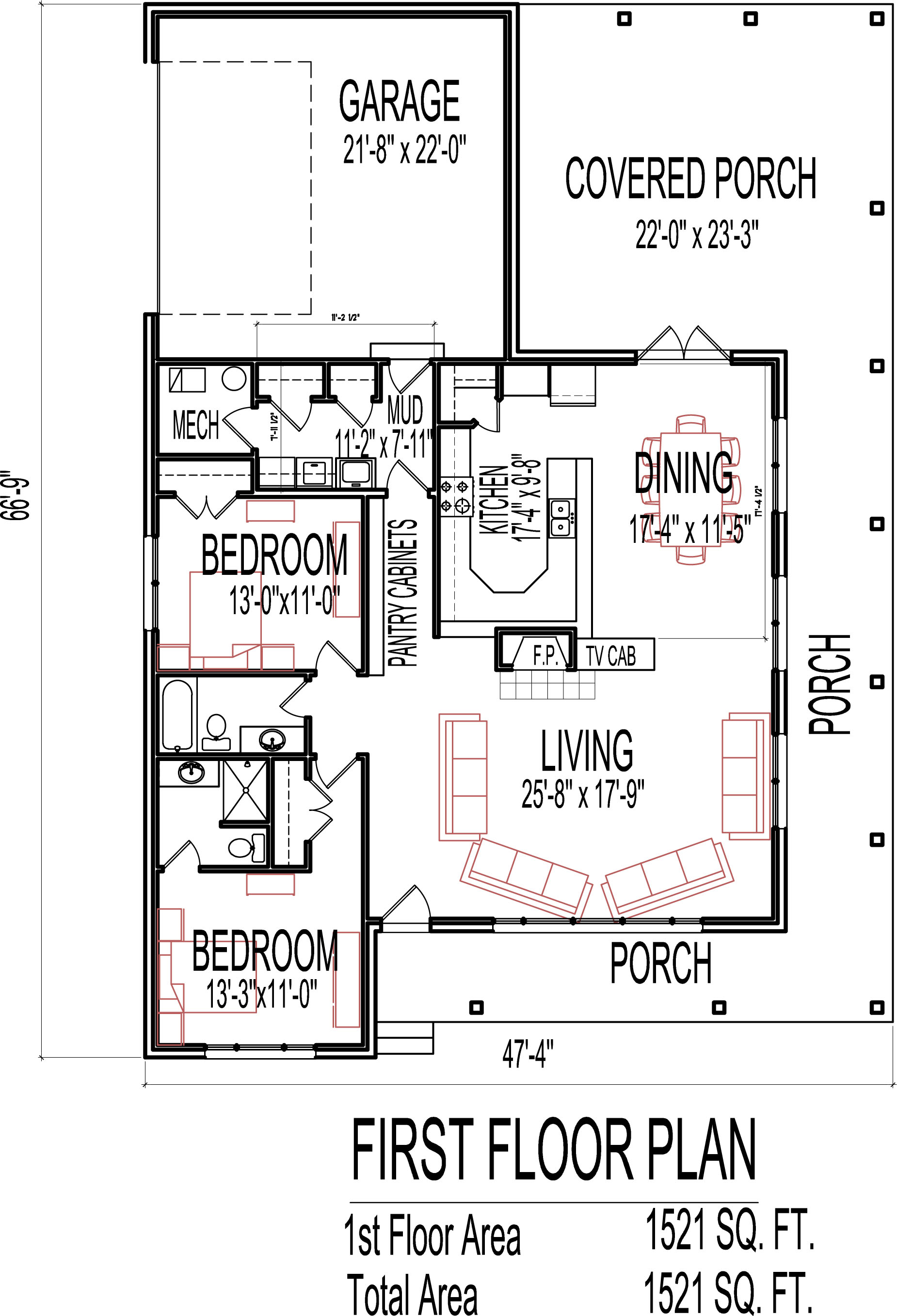 Remodel small house plans