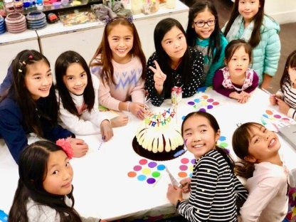 Girls Birthday Party
