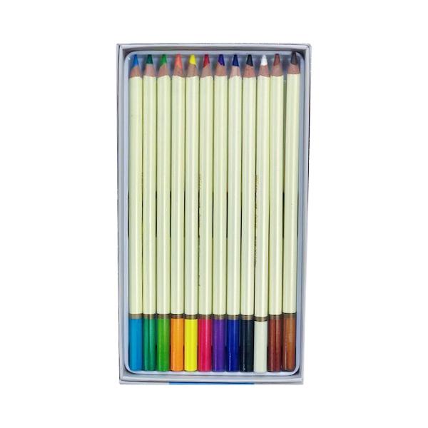 Set of 12 watercolor pencils