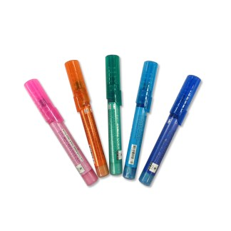 Set of 5 Multicolored Nail Pens