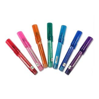 Set of 7 Multicolored Nail Pens