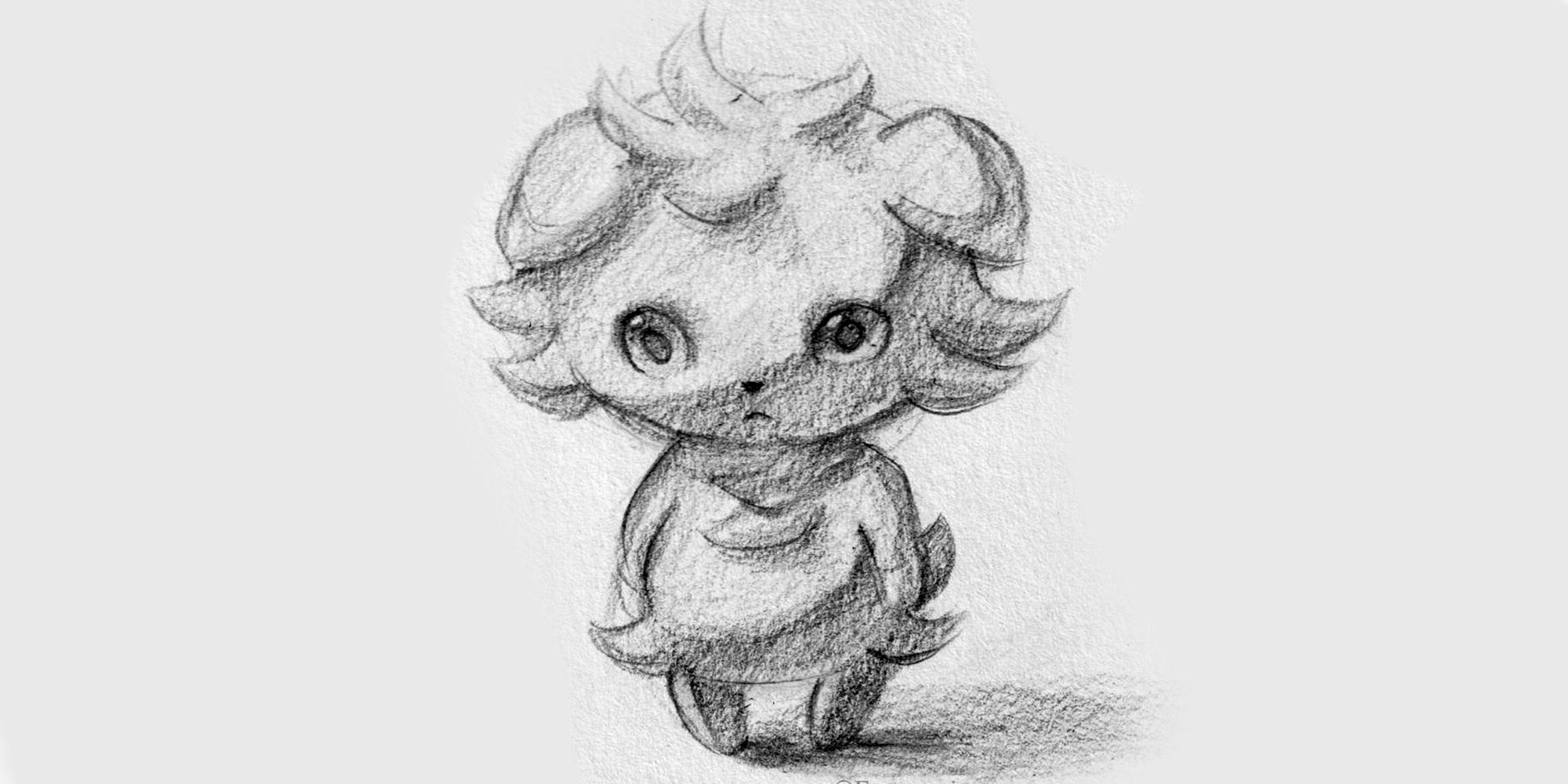 sketch espurr pokemon composition