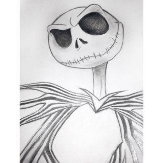 sketch of jack skeleton composition