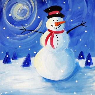 snowman composition