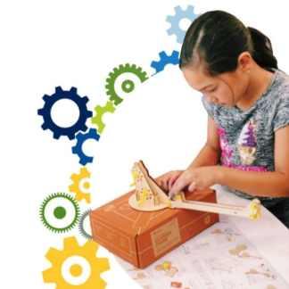 image of student working on kiwico crate