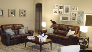 Easy Makeover: Taking A Neutral Living Room From Plain To Polished ...