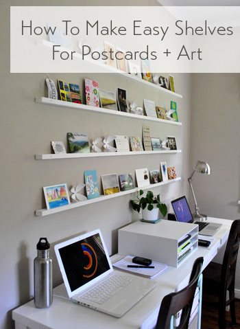 how-to-make-shelves-for-postcards-and-art-ledges
