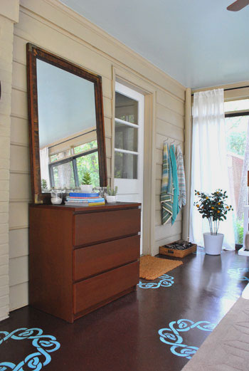 Our Mini Sunroom Makeover The Big Reveal & Open \u0027Er Up! (Converting A Sunroom Into A Veranda) | Young House Love
