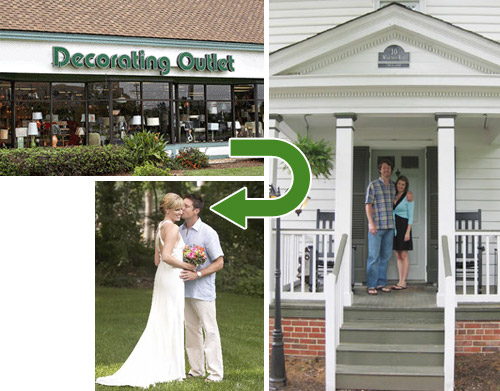 Neighbors-Outlet-Wedding | Young House Love