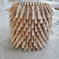 Summer Pinterest Challenge: How To Make A Clothespin Chandelier