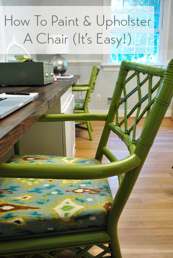 how-to-paint-and-upholster-a-chair