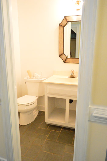 Marvelous Priming u Painting The Bathroom u A New Mirror