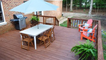 How To Strip & Clean A Deck For Stain   Young House Love