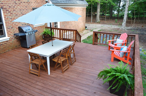 Marvelous How To Stain And Seal A Deck