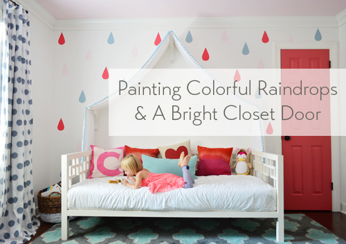 painting-colorful-raindrops-and-bright-closet-door