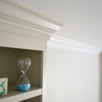 Adding Crown Molding To A Room (And Some Built-Ins)